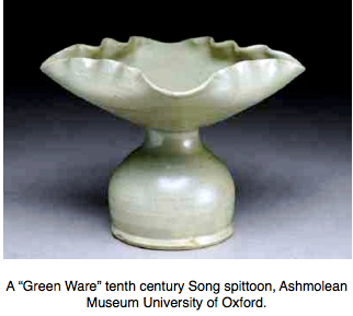 Song Green Ware spittoon