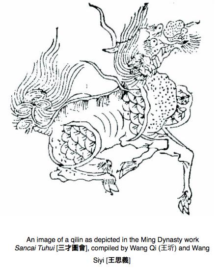Sanai Tuhui Qilin