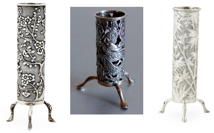 Wang Hing Spill Vases