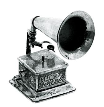 Li Sheng Miniature Gramophone