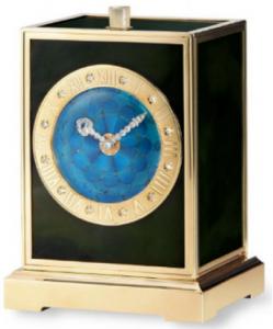 Cartier Art Deco clock with tian tsui clockface