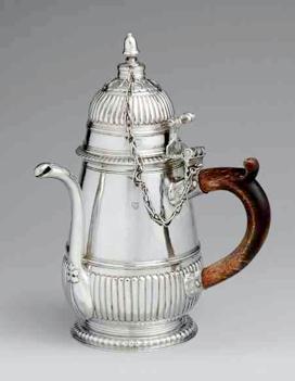 Edward Winslow 18th Century Chocolate Pot