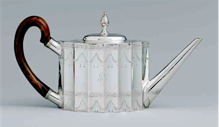 Circa 1800 Paul Revere Tea Pot