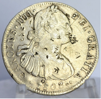 Spanish Mexican Silver Trade Dollar