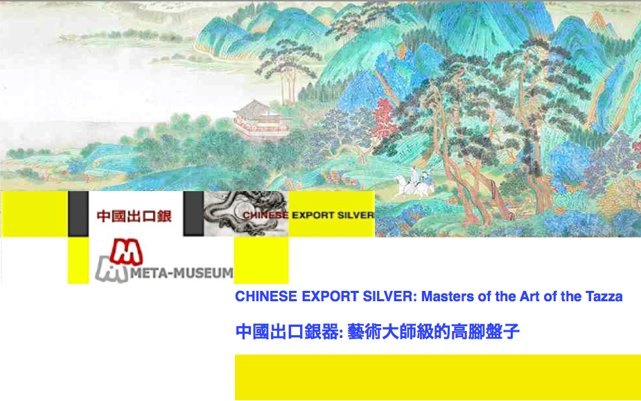 Chinese Export Silver Article 24 Header