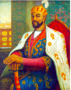 Chinese Export Silver: Potrait of Tamerlane