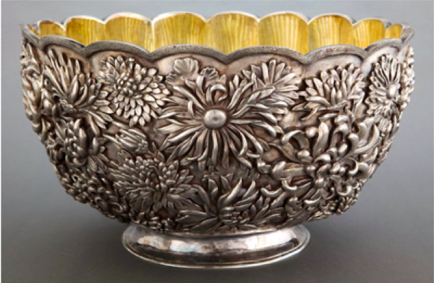 Tiffany & Co Chinese Rose Bowl