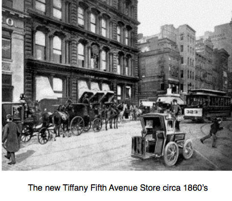 Tiffany & Co Fifth Avenue 1860s