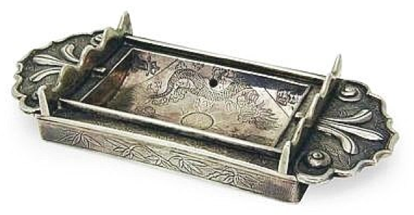 #ChineseExportSilver Chinese Export Silver Incense stick holder