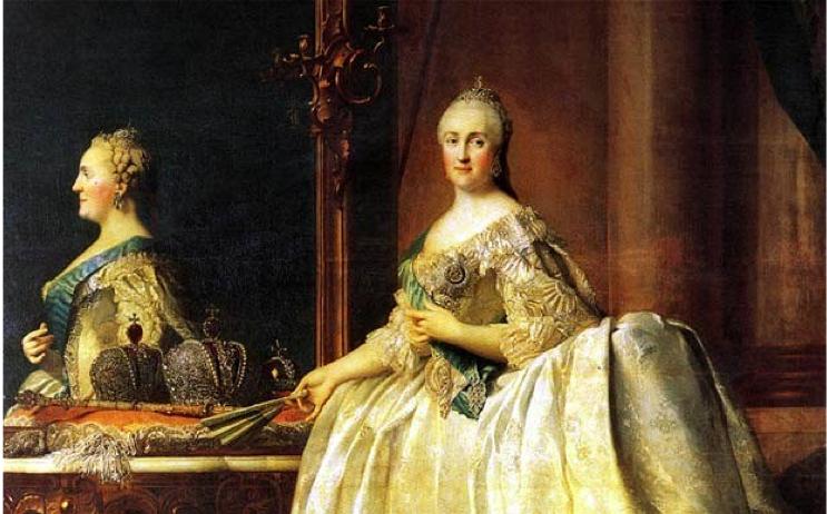 Catherine the Great by Vigilius Erichsen