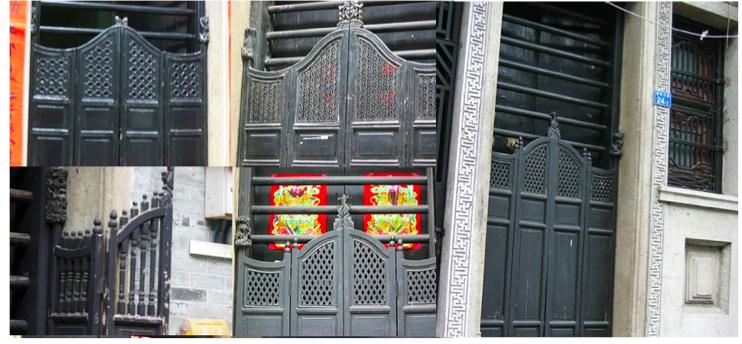 Liwan Canton Traditional House Gates