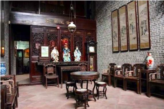 Liwan Mansion Interior