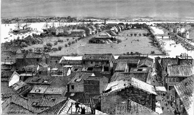 Shameen Island Canton 1842