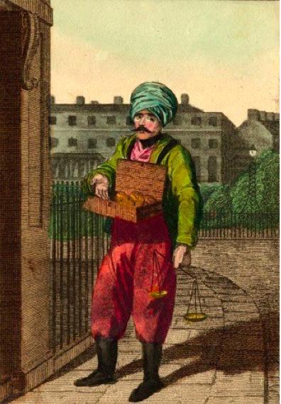 #ChineseExportSilver 19th Century Itinerant British Opium Street Seller