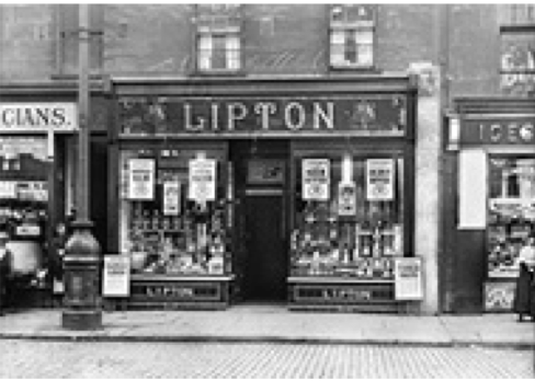 #ChineseExportSilver Lipton original store Glasgow 19th century