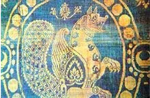 Sassanian Silk Twill Textile