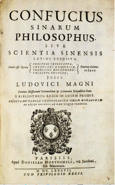 Confucius Sinarum Philosophus