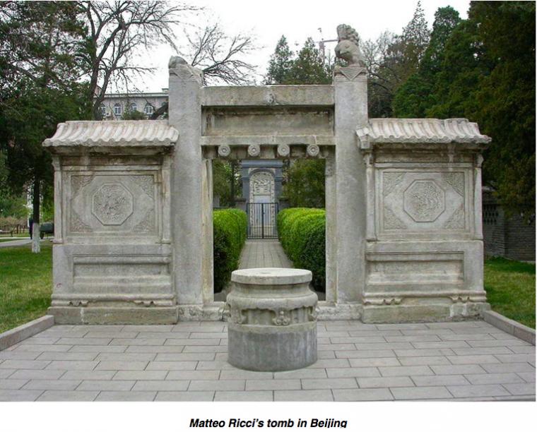 Matteo Ricci Tomb