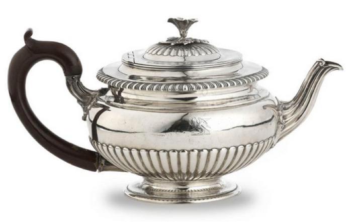 Paul Storr silver teapot