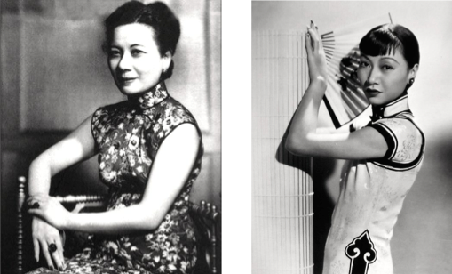 Madame Chiang and Anna May Wong