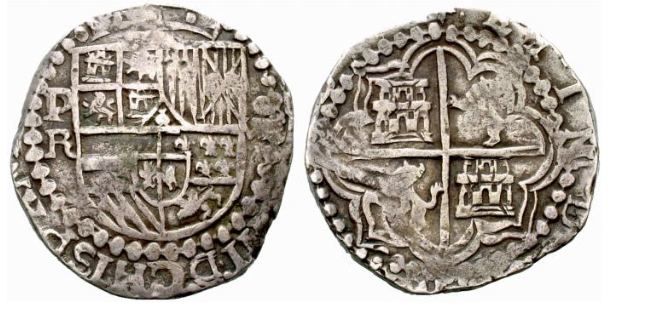 Philip III 8 Reales Silver Coin