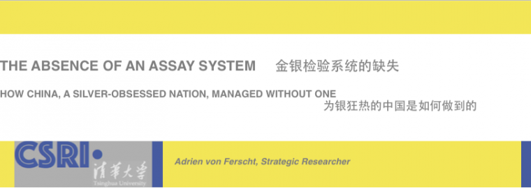 The Absence of an Assay System in China
