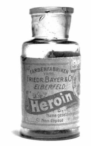Bayer Heroin opium derivative