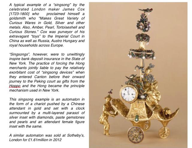 "18th Century ""Singsong"" Automaton"