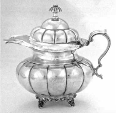 Neo Classical Chinese Export Silver Lidded Jug