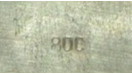 800 silver mark